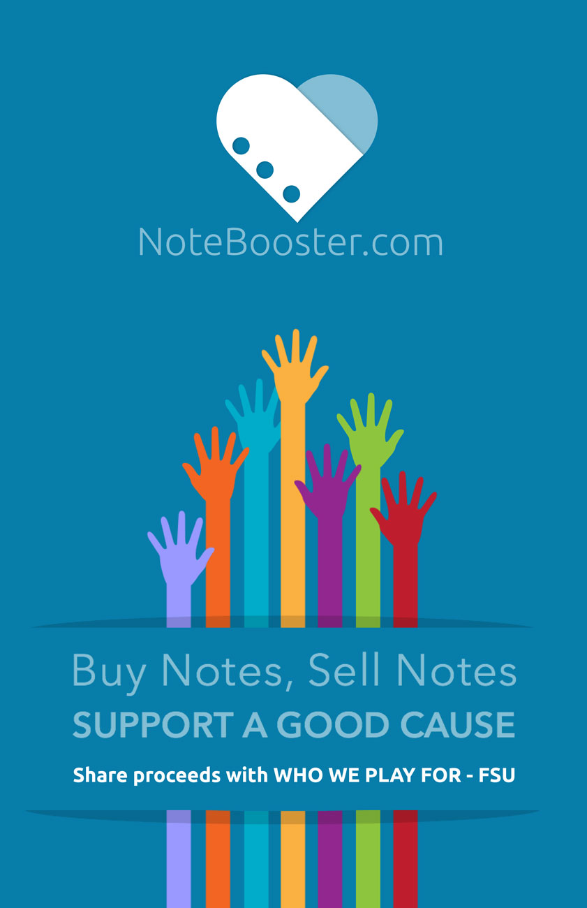 NoteBooster flyer